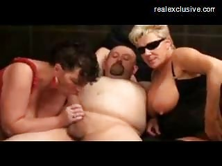 swingers party with aged cum bitches