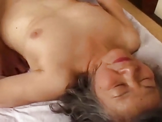 granny japanese is fuck by juvenile stud