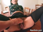 super lustful older whore with hirsute