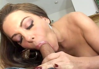 giving my stepmom an orgasm with my large dick-