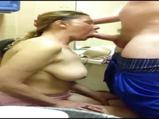 wife engulf cock and deepthroat