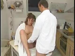 bulky wife from germany busted getting analized