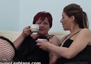 old lesbo redhead fucking with hawt part10