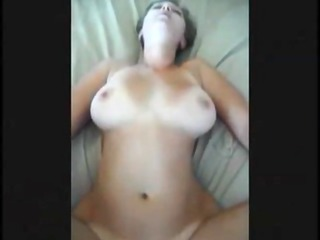 large boobed wife drilled on real homemade