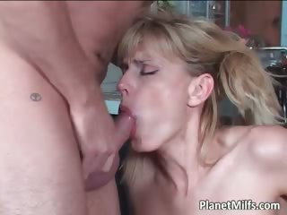 anal fucking lesson for golden-haired d like to