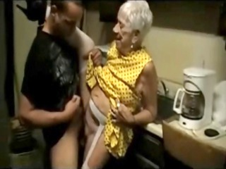 old granny receives screwed by a young boy