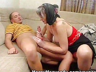 granny loves it is anal