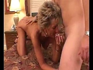 sexy breasty aged cougar oral pleasures