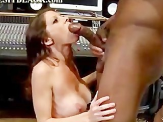 hot cougar screaming for dark pole