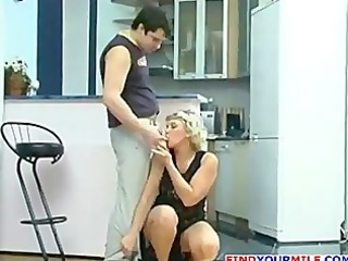 sexually excited cougar drilled hard