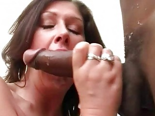 large breasted slut wife copulates dark hunk in