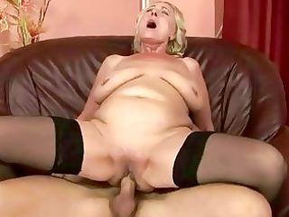 juvenile lad fucking corpulent grandma
