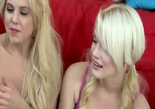 lovely college gals riding on real pecker