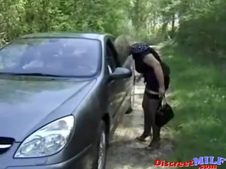 older hooker screwed outdoors by sexually excited