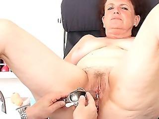 fuck gap examination plus a basty grandmother