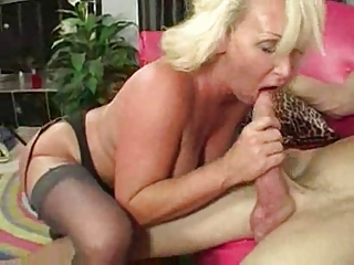 sexy aged breasty blonde cougar #6118nt