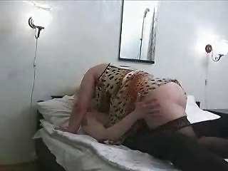 older chubby mamma in nylons with sons ally