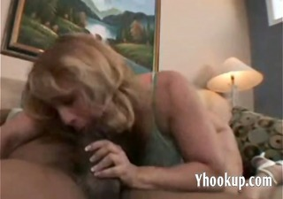 chubby mature wife gets her first b