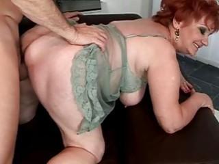 corpulent grandma enjoying wicked sex