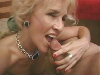 aged blond receives anal