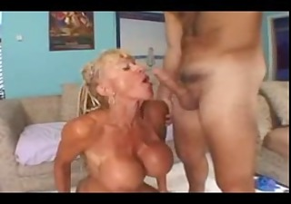 mature with big clit and massive tits