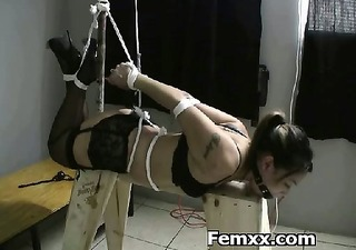 exquisite female exploitation with bizarre babe