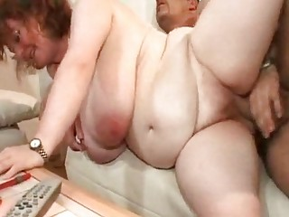 big beautiful woman jill massive saggy tits granny