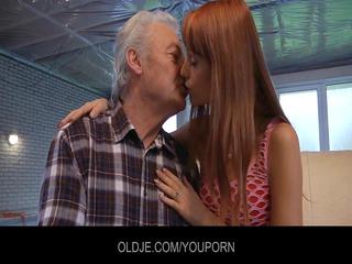 juvenile erica copulates the old older man