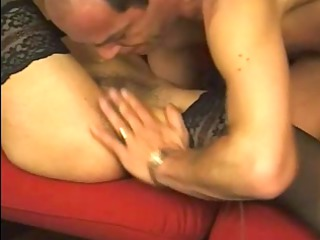 mature in nylons and glasses fucked