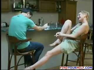russian milf can to drink