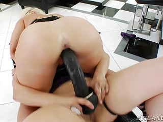 matures lesbian babes with huge strapons in