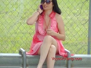 exhibitionist wife#111-bus stop flashing russian